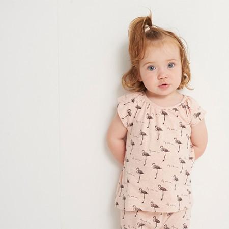 Soft Gallery Baby Olivia Top Fly Flamingo