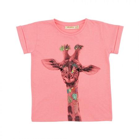 Soft Gallery Pilou T-Shirt Giraffe
