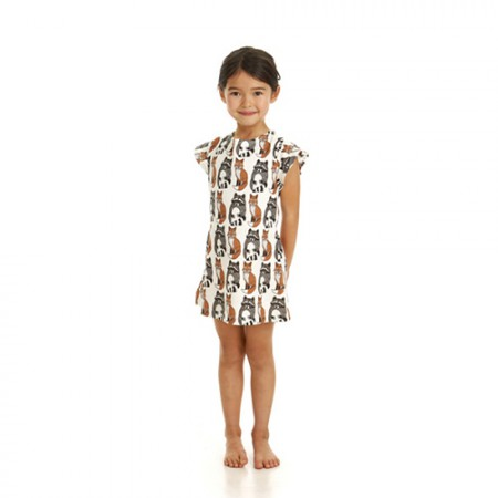 Filemon Kid Dress Raccoon & Fox