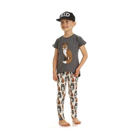Filemon Kid Legging Raccoon & Fox