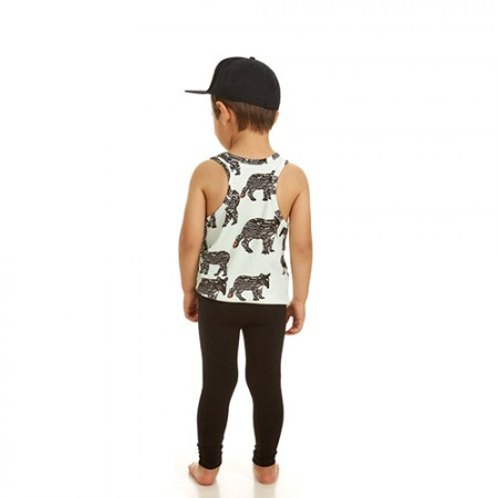 Filemon Kid Racerback Tank Tapir