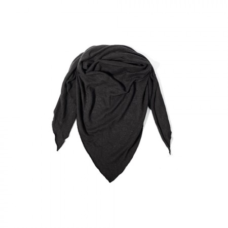 Just Bo Organic Hemp Scarf Black