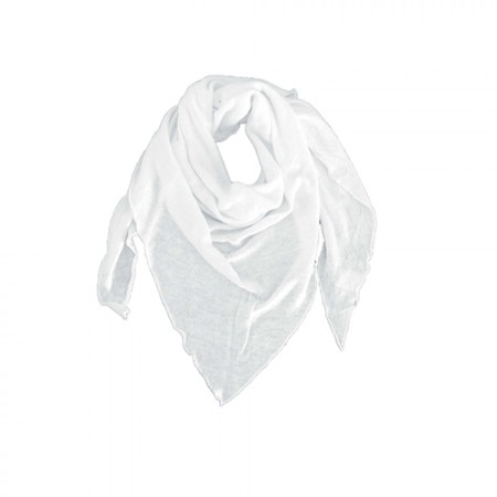 Just Bo Organic Hemp Scarf White