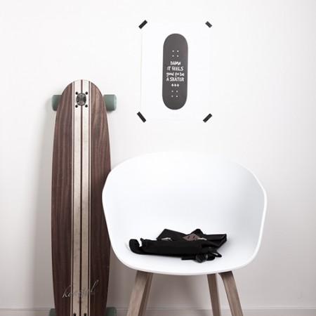 Just Bo Poster 'Feel Good Skater'