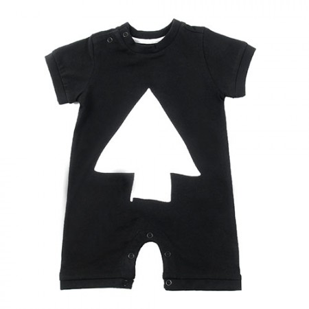 Loud Apparel Moon Playsuit Black