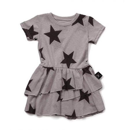 NUNUNU Layered Star Dress