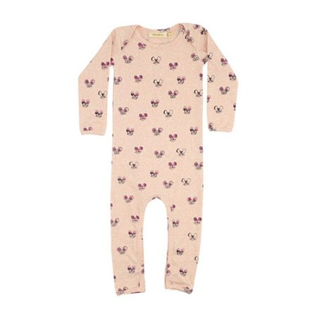 Soft Gallery Ben Bodysuit AOP Mousey Pink