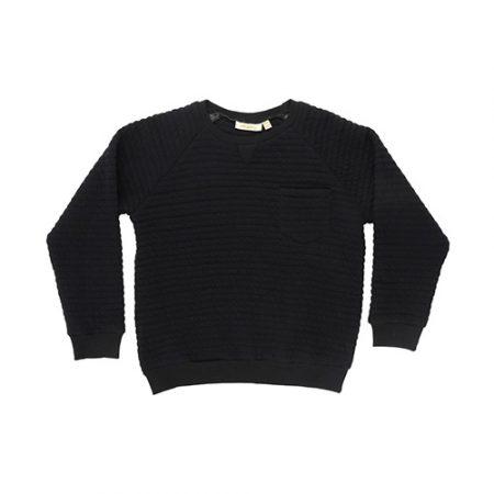 Soft Gallery Ryan Sweatshirt AOP Line Quilt