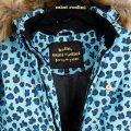 1671010960 Mini Rodini Siberia Leopard Jacket Blue