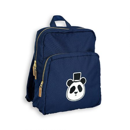 Mini Rodini Panda Backpack Dark Blue