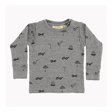 Soft Gallery Baby Harald LS T-Shirt AOP SIR