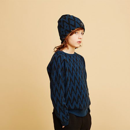 Soft Gallery Dicy Knit AOP PEAK