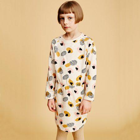 Soft Gallery Janel Dress AOP BLOT