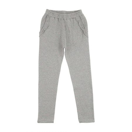 Soft Gallery Lucy Sweat Pants Grey Pink Melange