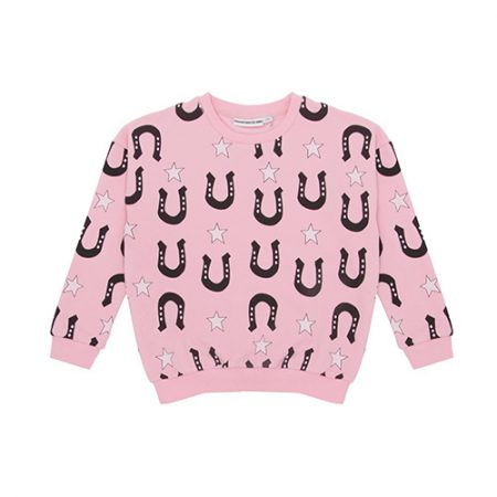 Gardner and the Gang Classic Sweater Stars and Unicorns