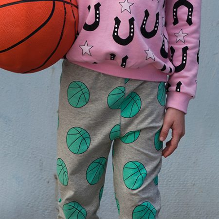Gardner and the Gang Slouchy Pants Basket Ball