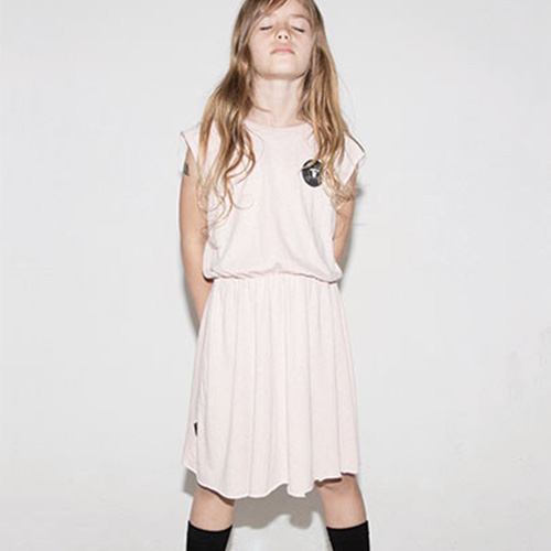 NUNUNU Sleeveless Soft Dress