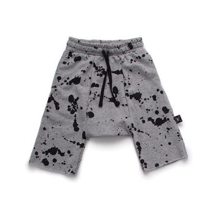 NUNUNU Splash Harem Shorts Heather Grey