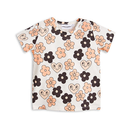 Mini Rodini Flowers SS Tee