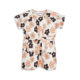 Mini Rodini Flowers Tee Dress