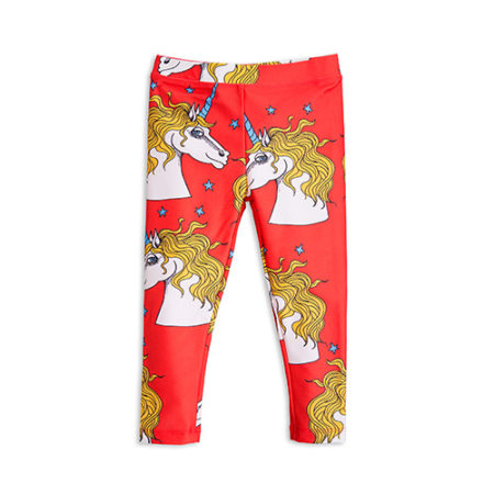 Mini Rodini Unicorn Star Fancy Leggings