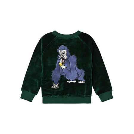 Tao and Friends Gorillan Velvet Bomber