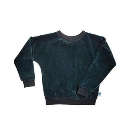 Tough Cookie Velvet Forest Sweater