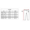One Day Parade Size Chart Legging
