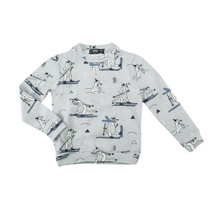 Raspberry Republic Snow Weasel Sweatshirt